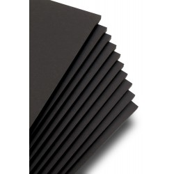 Foam Board JM Black με Κόλλα (1220mm x 2440mm) (004-FMBKAD-1222440)