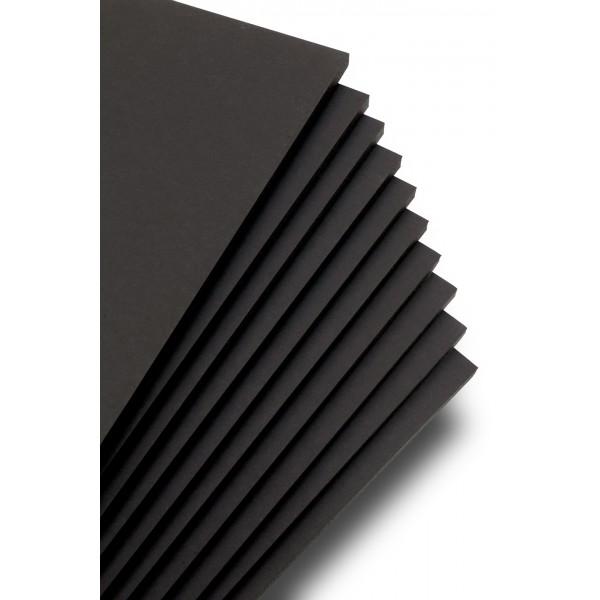 Foam Board JM Black με Κόλλα (1220mm x 2440mm) (004-FMBKAD-1222440)