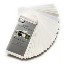 Media Sampler Hahnemühle Digital FineArt Papers 110x50mm (10603000)