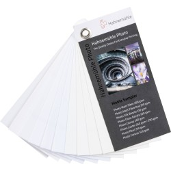 Media Sampler Hahnemühle Photo Papers 110x50mm (10603550)