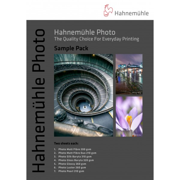 Χαρτί Hahnemühle Photo Sample Pack A3+ (10603604)