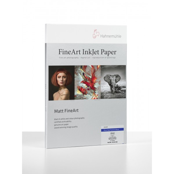 Paper Box Hahnemühle Photo Rag® Book & Album A2 25 sheets short grain 220 gr/m² (10641691)