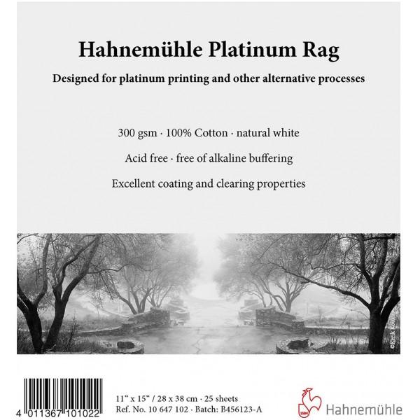 Roll Hahnemühle Platinum Rag (1270mm x 10m) 300 gr/m² (10647200)