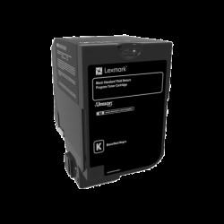 Toner Lexmark Black Return Programme 7k pgs (74C2SK0)