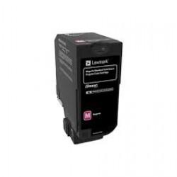 Toner Lexmark Magenta Return Programme 7k pgs (74C2SM0)