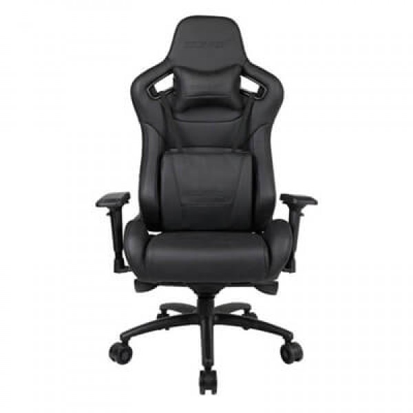 Gaming Chair Anda Seat AD12 XL Real Leather Black (AD12XL-05-B-L)