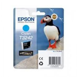 Ink Epson Cyan T3242 14ml (C13T32424010)
