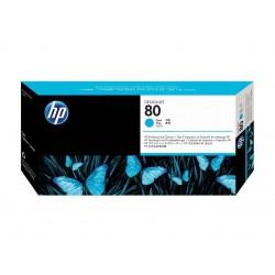Printhead & Cleaner HP 80 Cyan (C4821A)
