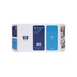 Ink HP 80 Cyan 350 ml (C4846A )