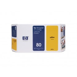 Ink HP 80 Yellow 350 ml (C4848A )