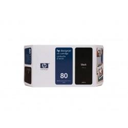 Ink HP 80 Black 350 ml (C4871A )