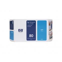 Ink HP 80 Cyan 175 ml (C4872A )