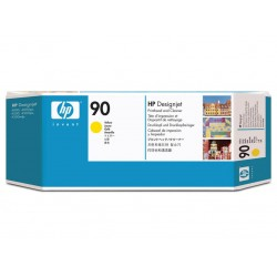 Printhead and Cleaner HP 90 Yellow (C5057A)