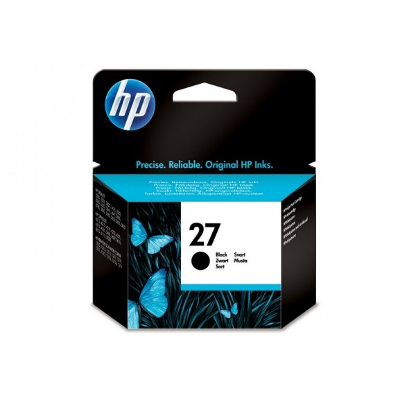 Ink HP 27 Black 280 Pgs (C8727AE)