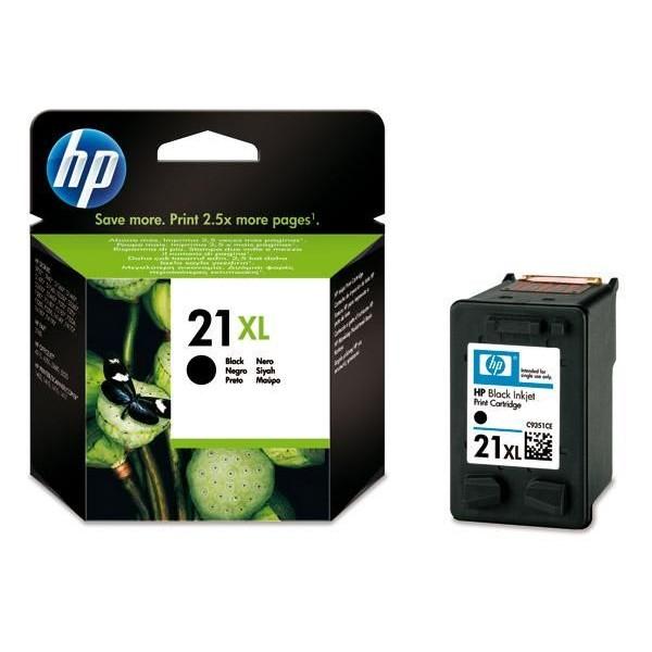 Ink HP 21XL Black 475 Pgs (C9351CE)