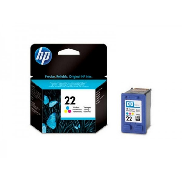 Ink HP 22 Tri Color 138 Pgs (C9352AE)