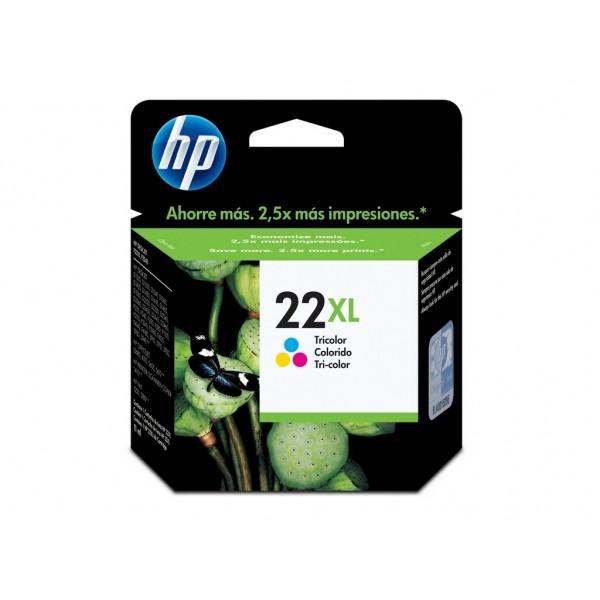 Ink HP 22XL Tri Color 415 Pgs (C9352CE)