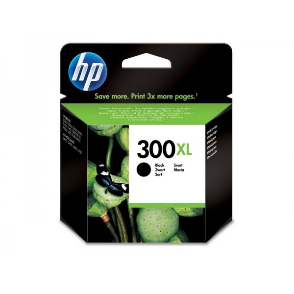 Ink HP 300XL Black Cartridge Vivera Ink, 600 Pgs (CC641EE)