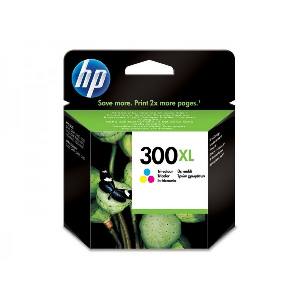 Ink HP 300XL Tri Color Cartridge Vivera Ink, 440 Pgs (CC644EE)