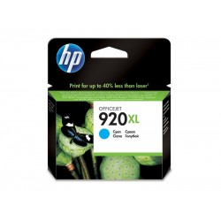 Ink HP 920XL Cyan 700 Pgs (CD972AE)