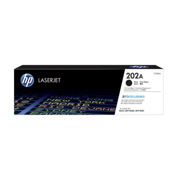 Toner HP 202A Black 1,4k pgs (CF500A)