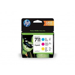 Ink HP 711 Pack Cyan/Magenta/Yellow 3x 29ml (P2V32A )