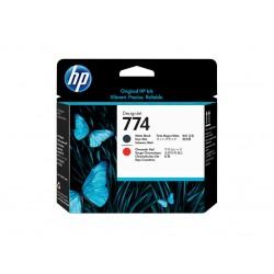 Printhead HP 774 Matte Black/Chromatic Red (P2V97A)
