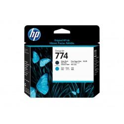 Printhead HP 774 Matte Black/Cyan (P2W01A)