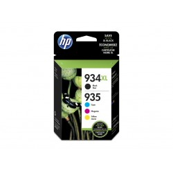 Ink HP 934XL & 935XL 4 x pack (B/C/M/Y)Cartridges Multipack (X4E14AE)