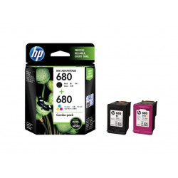 Ink HP 680 2-pack Black/Tri-color 480 pgs (X4E78AA)